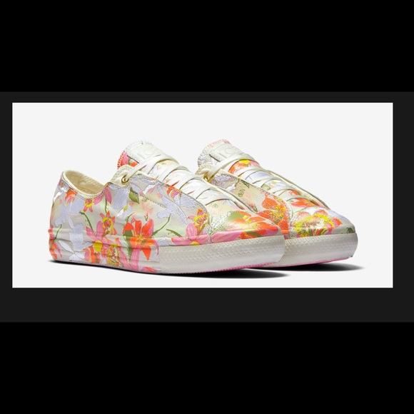9724539eed64 Converse X Patbo floral sneakers